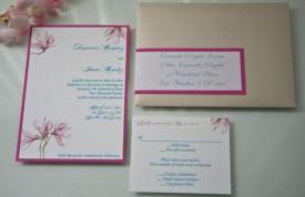 Asian Inspired Wedding Invitation Cassandre Snyder Events