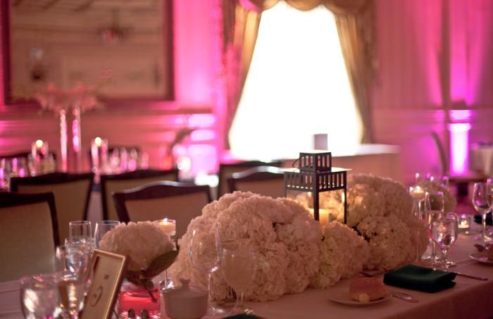 Lantern Hydrangea Asian Inspired Wedding Centerpiece Candre Snyder Events